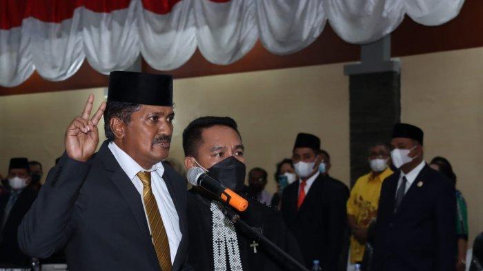 Sitaniapessy Resmi Jabat Anggota DPRD Maluku Tengah