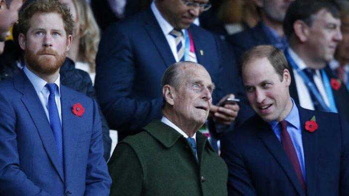 Ratu Elizabeth Larang Seragam Militer di Pemakaman Pangeran Philip, Demi Harry