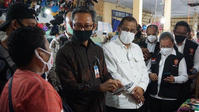 Transit Passo Jadi Pasar Digital Pertama di Kota Ambon, Gunakan QRIS untuk Bertransaksi