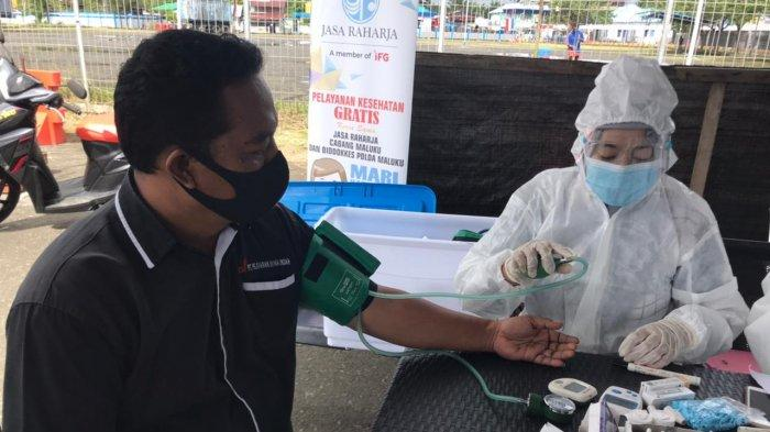 Jasa Raharja Gelar Pengobatan Gratis di Tulehu – Maluku Tengah, Warga; Kami Sangat Terbantukan