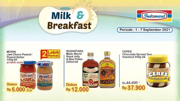 Promo Indomaret Super Hemat 1-7 September 2021: Madu Murni Nusantara 250 ml Diskon Rp 12.000
