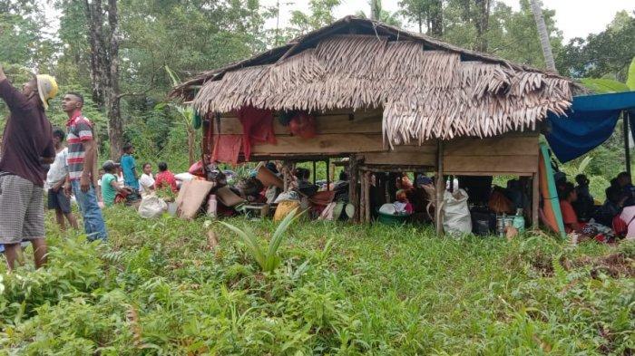 Masih Trauma, Warga Dusun Mahu dan Saunulu Maluku Tengah Enggan Pulang ke Rumah