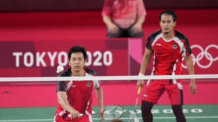 Meskin Tak Berhasil Pertahankan Medali Emas, Ahsan/Hendra Unggul Pengalaman di Olimpiade