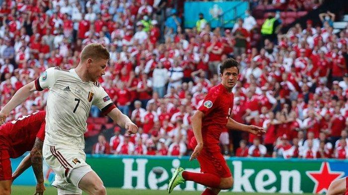Hasil Denmark Vs Belgia, The Red Devils Lolos ke 16 Besar Euro 2020