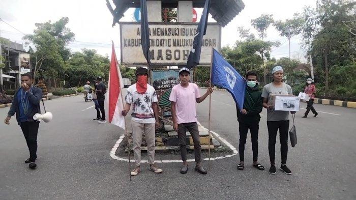 Peduli Gempa Maluku Tengah, GMKI Masohi Gelar Aksi Galang Dana