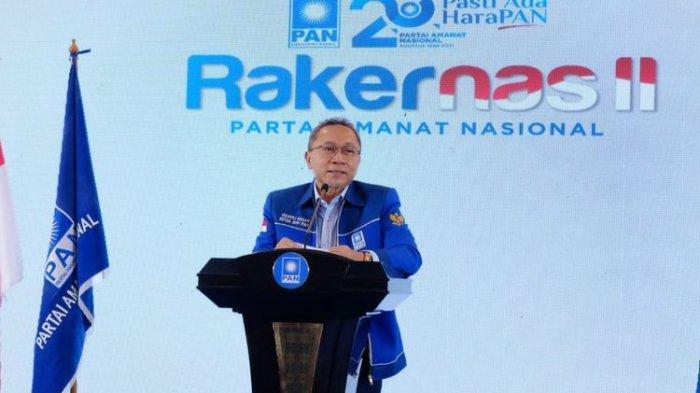 Rakernas PAN Usulkan Zulkifli Hasan Maju di Pilpres 2024