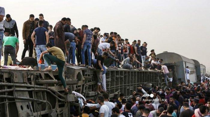 11 Orang Tewas dalam Kecelakaan Kereta Api di Mesir