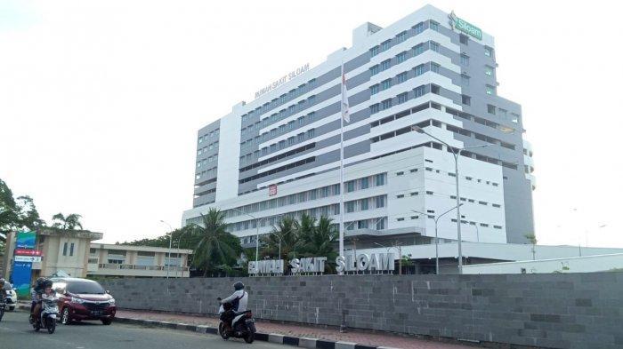 Tampak depan RS Siloam Ambon, Rabu (20/1/2021)