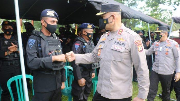 210 Personil Brimob Amankan PON Papua, Kapolda Maluku Minta Utamakan Kerja Sama