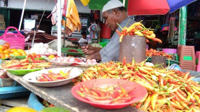 Pasokan dari Namlea Pulau Buru Berkurang, Cabai Rawit Meroket Hingga Rp 120 Per Kilogram di Ambon