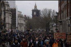 Masyarakat Inggris Turun di Jalan untuk Protes Anti-lockdown Covid-19