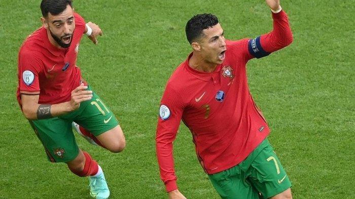 Top Skor Euro 2020 - CR7 Teratas, Shaqiri Masuk Persaingan dan Bikin Rekor