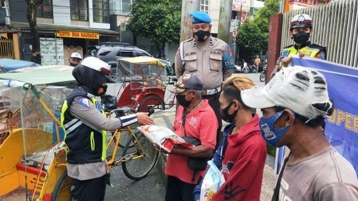 Hari Kedua Operasi Patuh Siwalima 2021 di Ambon, Belum Ada Penilangan, Malah Bagi Sembako