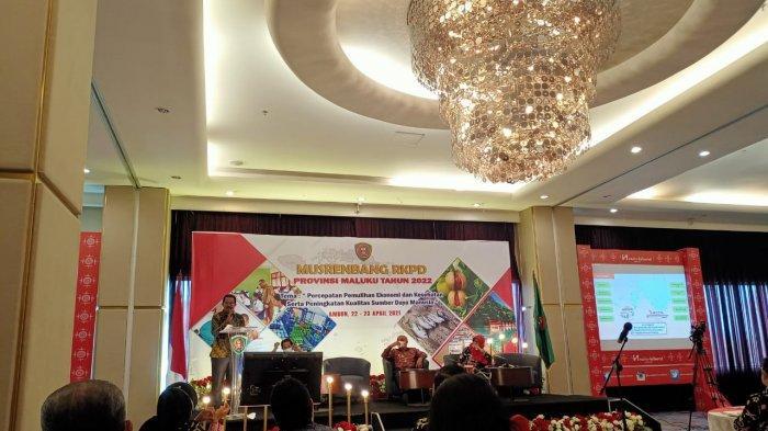 Musrenbang RKPD Provinsi Maluku 2022, Yasin Payapo Nilai Lulusan Unpatti Tidak Mau Bekerja di SBB
