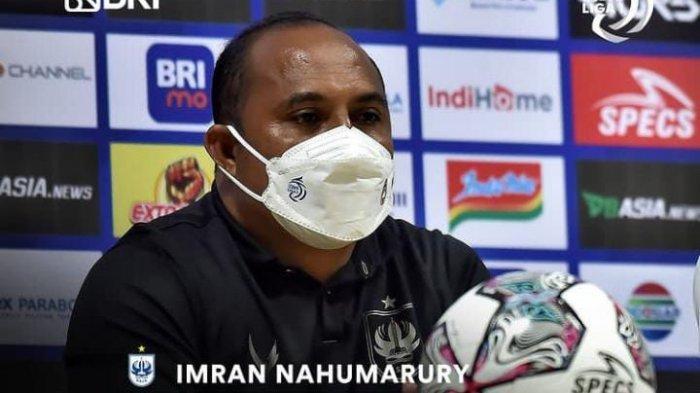 Imran Nahumarury Kembali Terpilih Jadi Pelatih Terbaik di Liga 1 dalam 2 Pekan Secara Beruntun