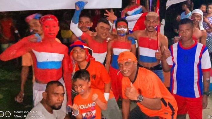 MALUKU: Euforia Euro 2020, Fansclub tim sepak bola Belanda di Maluku menarik perhatian dari salah satu Stasiun TV di Belanda.