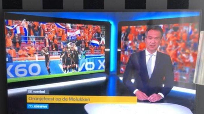 Euforia Euro 2020, de Orange Maluku Masuk TV Belanda