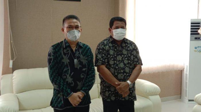 Pindah Tugas ke Jakarta, Kejati Maluku Rorogo Zega Pamit ke Ketua DPRD Maluku