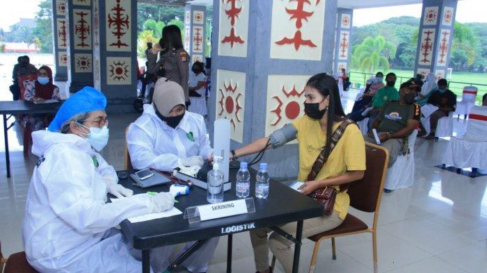 Target Vaksinasi Bagi Pelayan Publik Maluku Tengah Jauh Dari Target, Baru 7.253 Orang