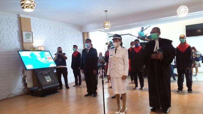 Lantik Raja Ema, Wali kota Ambon Sebut Ema Negeri Spesial