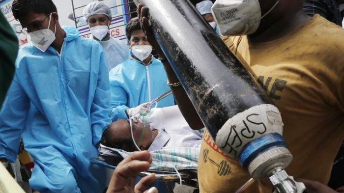 Indonesia Kembali Kirim Bantuan ke India, Kini 2.000 Tabung Oksigen