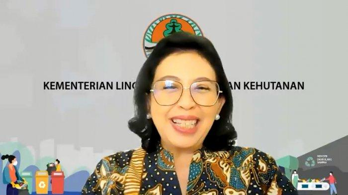 Direktur Jenderal Pengelolaan Limbah, Sampah, dan Bahan Beracun Berbahaya (PSLB3) Kementerian LHK, Rosa Vivien Ratnawati.