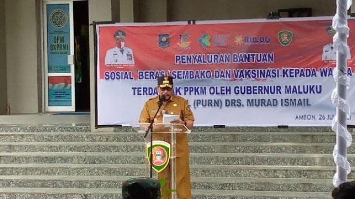 Hadapi Covid-19, Murad Ismail Ajak Masyarakat Maluku Tingkatkan Iman, Aman dan Imun