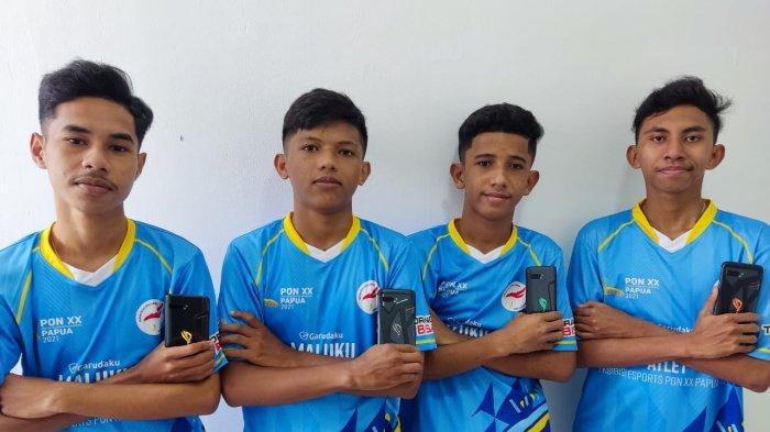 MALUKU: Tim Maluku yang terdiri dari Ezra Alexander Metekohy, Devolino Papilaya, Petra Pattiwaelapia dan Clifort Mahubessy berhasil menyelesaikan 10 match perlombaan dengan meraih total poin 112 dan 1 kali booyah (pemenang match).