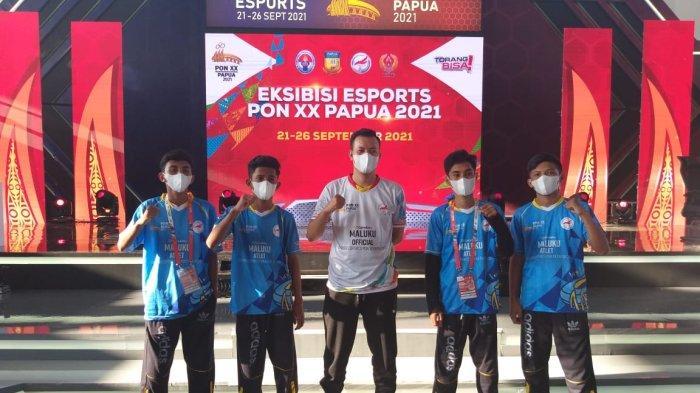 Maluku Raih Perunggu Divisi Free Fire Ekshibisi Esports PON XX