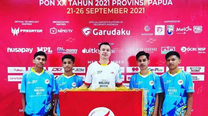 Maluku Sementara Berada di Peringkat 3 Divisi Free Fire Ekshibisi Esports PON XX