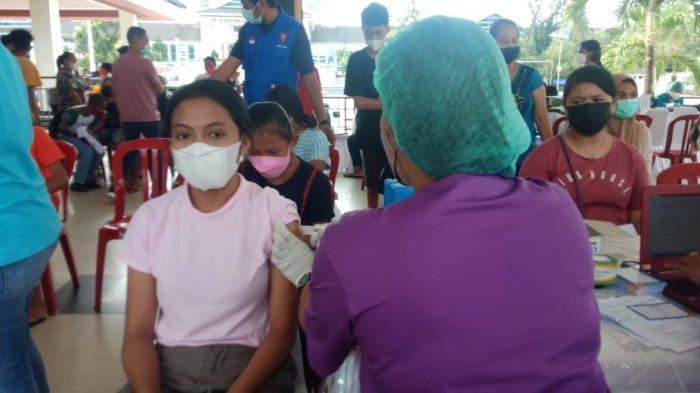 Vaksinasi Anak di Ambon Capai 61 Persen, Pelupessy; Orangtua Bisa Kerja Sama Agar PTM Dilaksanakan