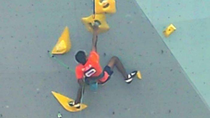 Lolos ke Semifinal Kategori Lead PON XX, Atlet Panjat Tebing Maluku Berada di Peringkat 26