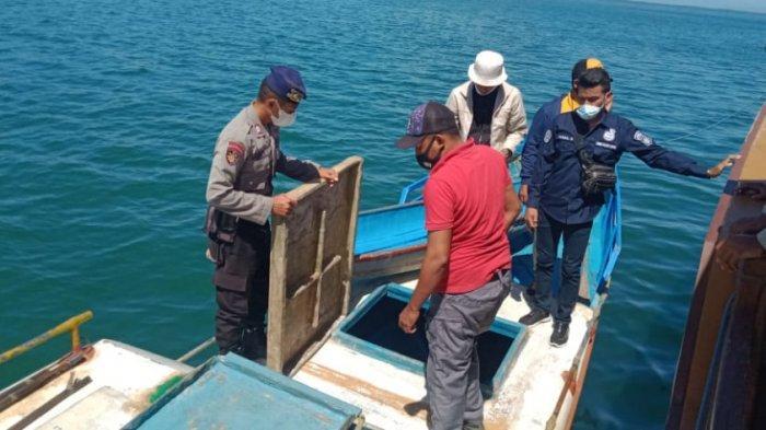 Bawa Hampir 8 Ton BBM Ilegal, Nahkoda  Kapal Asal SBB Diamankan di Perairan Pulau Buru