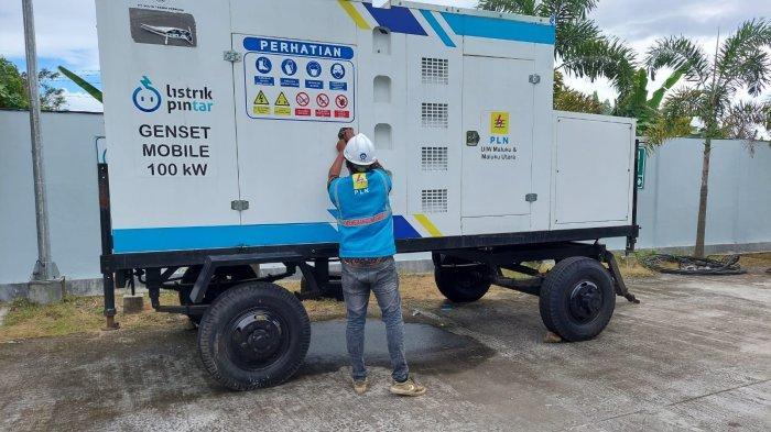 MALUKU UTARA: Persiapan kesiagaan untuk mengamankan Pasokan Listrik STQ Nasional Oktober 2021 mendatang di Sofifi, Maluku Utara.