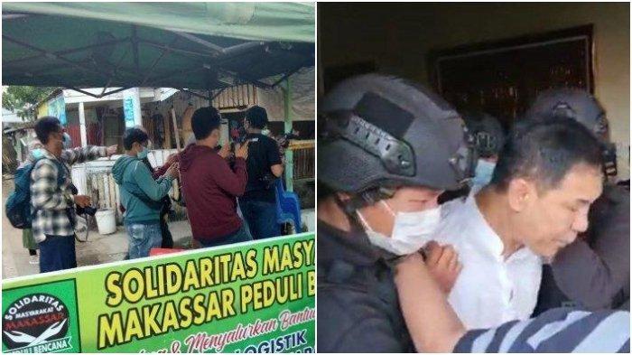 3 Eks Anggota FPI di Makassar Ditangkap Densus 88 Antiteror, Diduga Terkait Penangkapan Munarman