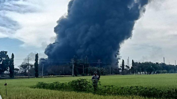Penyebab Kebakaran Kilang Pertamina Balongan Diduga Akibat Pipa Bocor