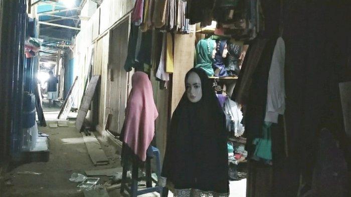Sebulan Berjualan di Pasar Apung, Lapak Pedagang di Blok Belakang Tidak Pernah Disinggahi Pembeli