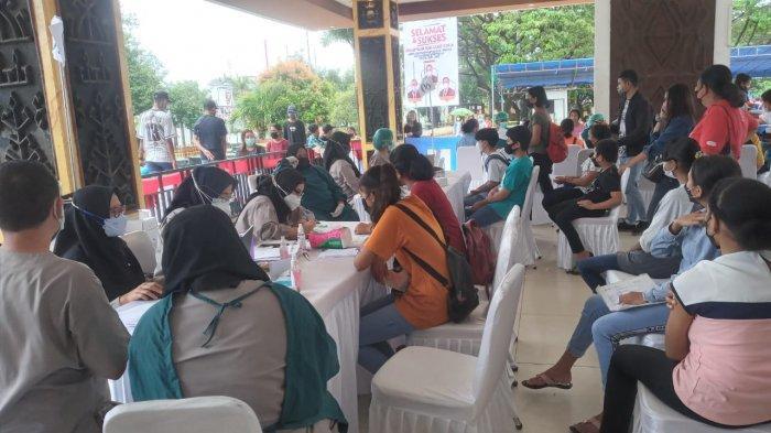 Gerai Vaksinasi di Lapangan Merdeka Dibuka hingga 14 Oktober 2021