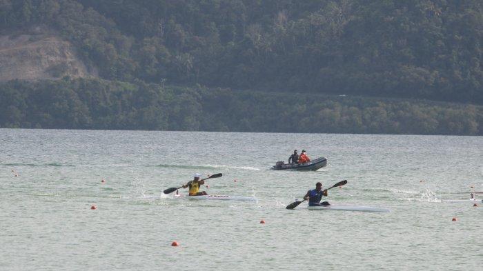 Finish di Urutan 5, Erwin Tamaela Gagal ke Final Kayak 200 M Putra PON XX