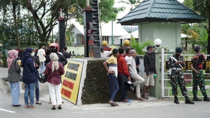 Lapangan Dijaga Ketat, Suporter Hila Putra FC Tak Bisa Masuk Kawasan Pertandingan Liga 3 Maluku