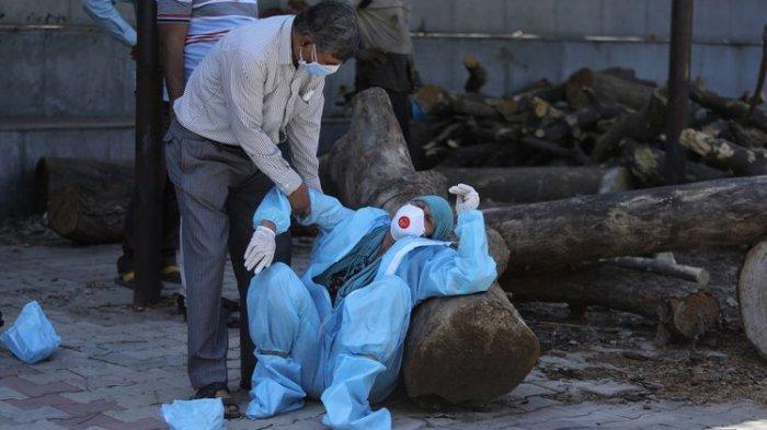 India Sebut Varian Mutasi Ganda Jadi Biang Keladi Tsunami Covid-19