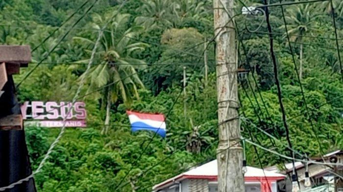 Euforia Warga Ambon Sambut Euro 2020, Bendera Belanda Berkibar di Batu Meja