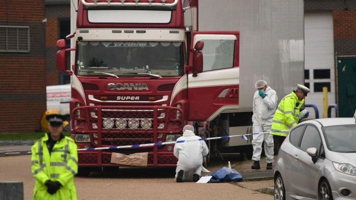 39 Mayat Ditemukan di Dalam Truk Kontainer di Inggris, Diyakini Berasal dari Bulgaria