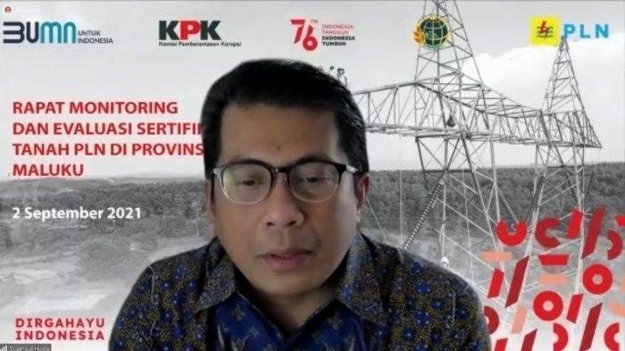 Direktur Bisnis Regional Sulawesi, Maluku, Papua dan Nusa Tenggara PLN, Syamsul Huda.