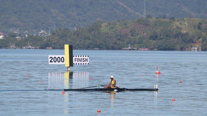 Sejumlah Atlet Dayung Maluku Melaju ke Final Rowing PON XX