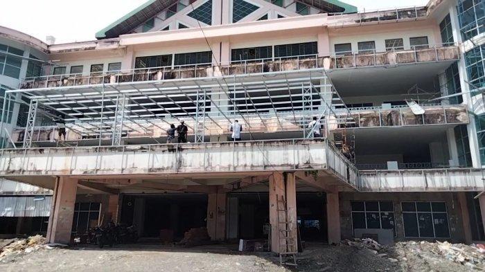 Telan Rp 11,4 M, Proyek Revitalisasi Bangunan Maplaz Target Rampung Desember Mendatang