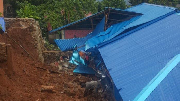 Hujan Deras Selama 2 Hari, 1 Rumah di Negeri Soya Tertimpa Longsor