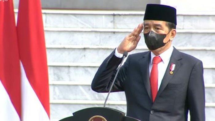 HUT ke-76 TNI, Jokowi Tekankan Transformasi Sistem Pertahanan