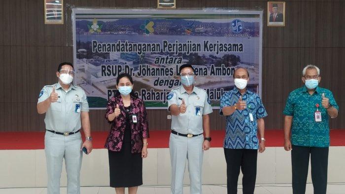 AMBON: Kepala PT Jasa Raharja Cabang Maluku, Triadi menyebutkan, korban kecelakaan yang dirawat di RSUP tidak perlu membayar biaya perawatan, Rabu (5/5/2021).
