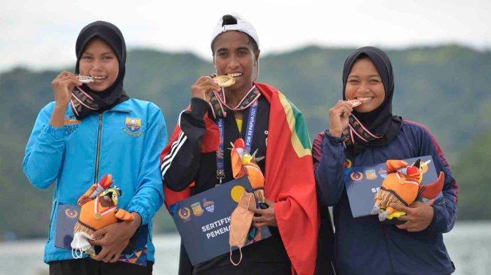 Dayung Maluku Raih 2 Emas dan 1 Perak di PON XX